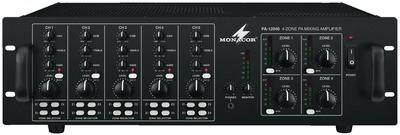 Monacor PA 12040 4 zónás monó keverőerősítő