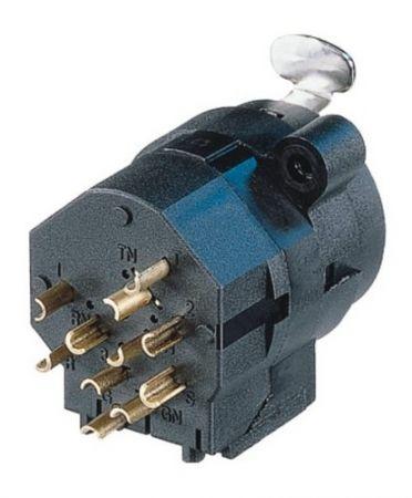 NEUTRIK XLR-6,3 stereo Jack combo aljzat