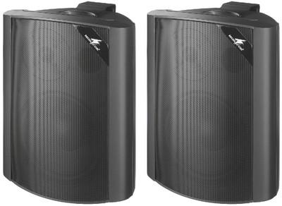 Monacor EUL 80 30W-os fekete fali hangsugárzó pár