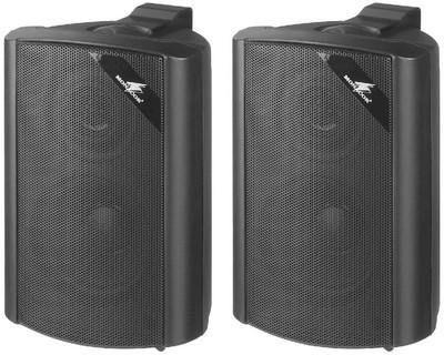 Monacor EUL 30 15W-os fekete fali hangsugárzó pár