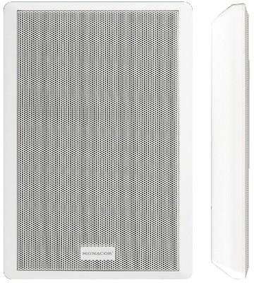 Monacor ESP 130 extra lapos 5W-os fali hangsugárzó