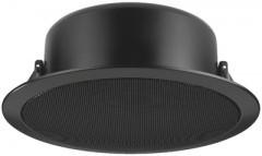 Monacor EDL-11TW fekete színű álmennyezeti hangszóró