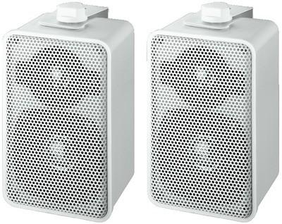 Monacor EUL 42 10W-os fehér fali hangsugárzó pár