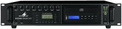 Monacor PA 8120RCD monó keverőerősítő beépített CD+rádió-val