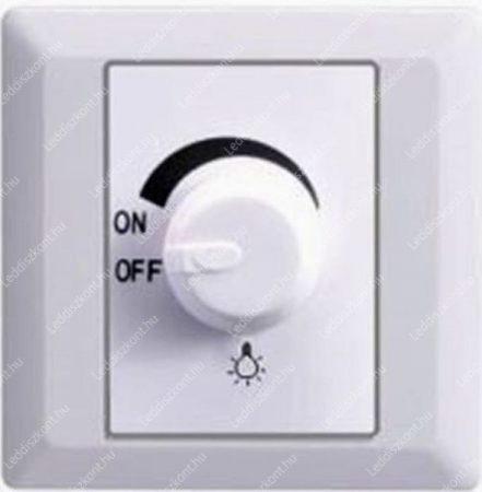 Led dimmer/fényerőszabályozós kapcsoló 1-630W között