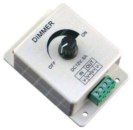Led szalag dimmer 8A 96W