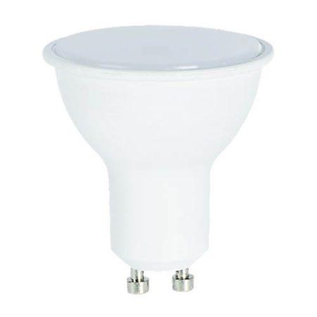 7W Led GU10 spot égő tejes búra fényerő szabályozható  közép fehér