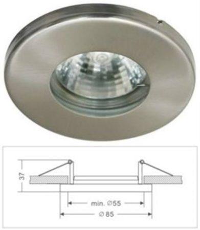 Led beépíthető lámpatest, alumínium, IP44  fix