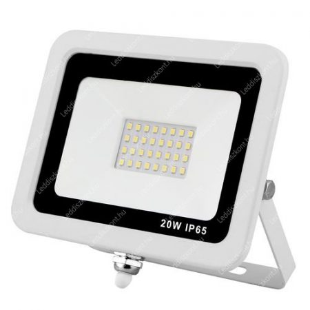 10W slim smd led reflektor, 4000 kelvin, közép fehér