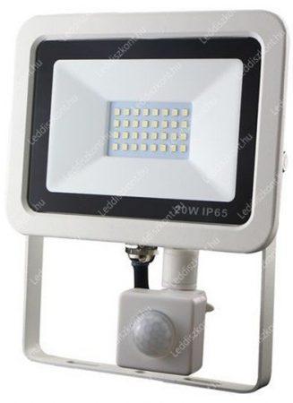 30W mozgásérzékelővel slim smd led reflektor 6000 kelvin hideg fehér