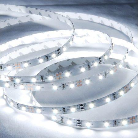 Extra erős Led szalag IP65,  60 led/m, 2835  hideg fehér