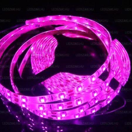 Led szalag 60 led/m, IP65, 3528  pink