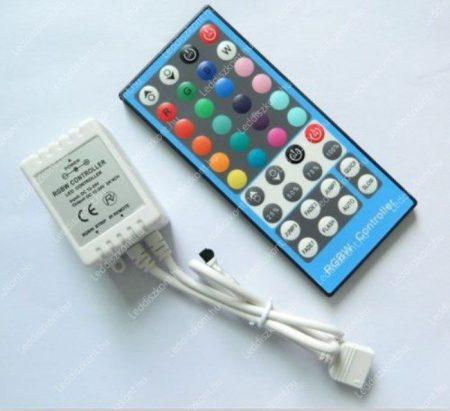 RGBW led szalag vezérlő  96W, infrás 40 gombos, RGB+ meleg fehér