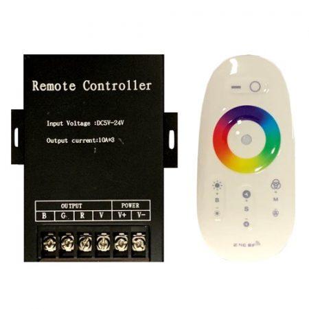 RGB led szalag vezérlő 360W rádiós érintős