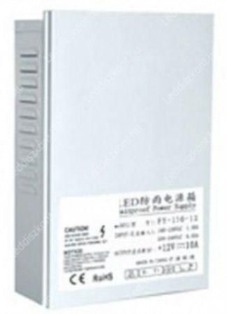 Led  DC tápegység 150W 12,5A IP43 esőálló