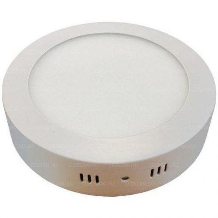 12W Led UFO lámpa kör komplett,  hideg fehér